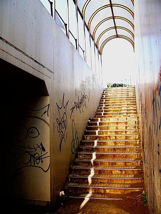 地下横断歩道(湘南): Ribon::P...